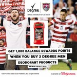 Score Big this Summer with Degree & Walgreens