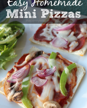 Homemade Mini Pizzas