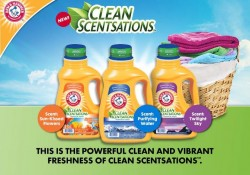 Arm & Hammer Clean Scentsations Detergent + Contest