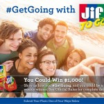 Jif To Go Photo Competition: Enter and You Could Win $1000!