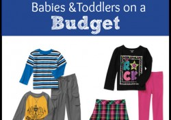 Tips for Dressing Babies & Toddlers on a Budget with Garanimals