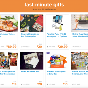 Find Last-Minute Gifts for Everyone on Your List with LivingSocial