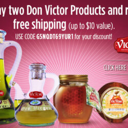 Don Victor Gourmet Products Make Great Gifts + Free Shipping Coupon