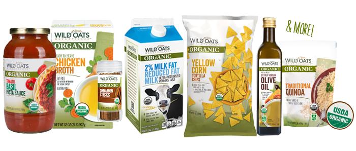Wild Oats Organic Products at Walmart
