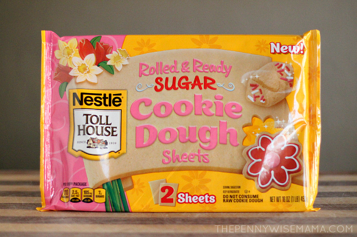 Nestle Toll House Rolled & Ready Cookie Dough Sheets
