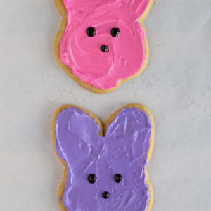 Fun & Easy Peeps Bunny Cookies for Easter