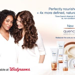 Love Your Curls at Walgreens + Dove Hair Care Giveaway