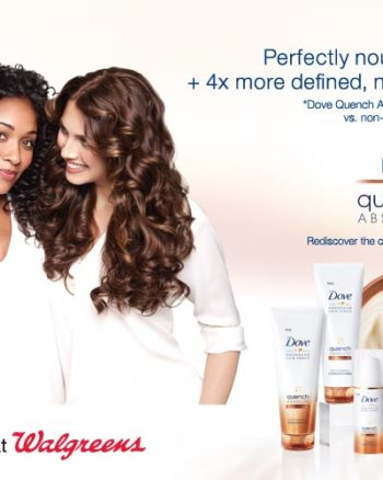 Dove Quench Hair Care at Walgreens