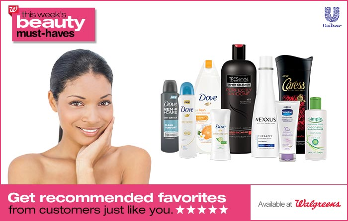 Beauty Recommendations at Walgreens