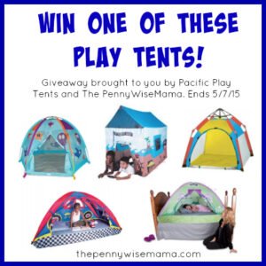 Cottage Bed Tent by Pacific Play Tents {Review & Giveaway}