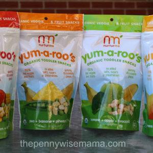 Nurturme Organic Toddler Snacks {Review & Giveaway}