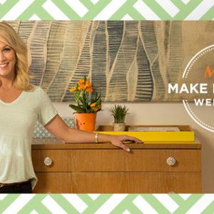 MOTRIN Make it Happen Weekends + DIY Tips from Jennie Garth