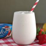 {Skinny} Frosted Strawberry Lemonade