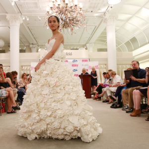 Amazing Wedding Dresses Made Out of Toilet Paper