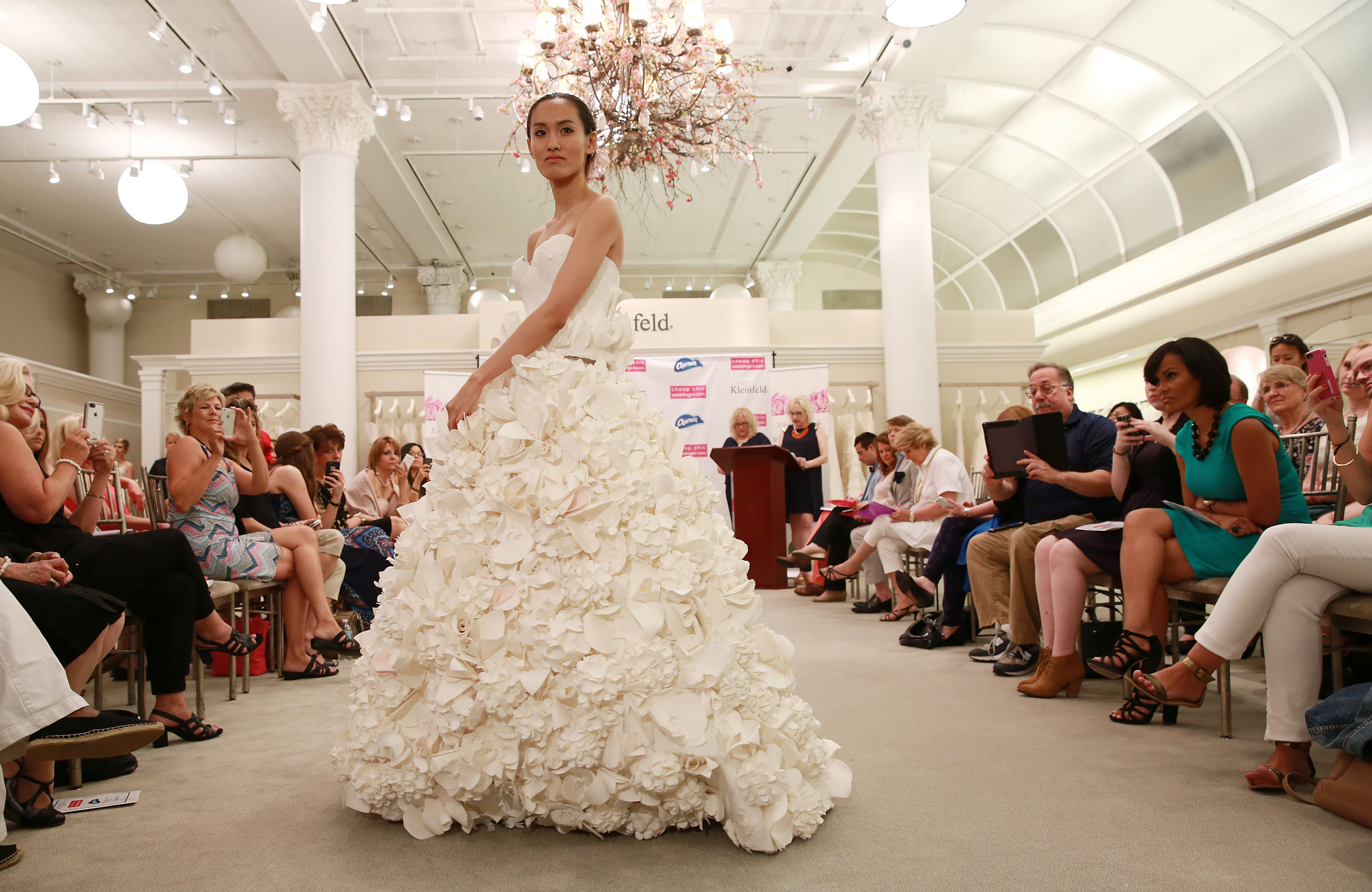 Wedding Dress Made Out Of Charmin Toilet Paper