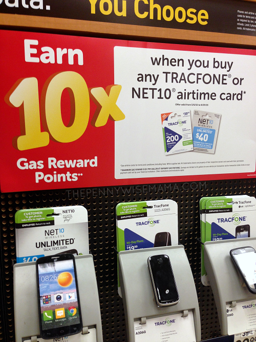 Earn 10x Fuel Rewards on Wireless Card Purchases at Safeway