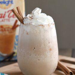 Frozen Vanilla Chai Tea Latte