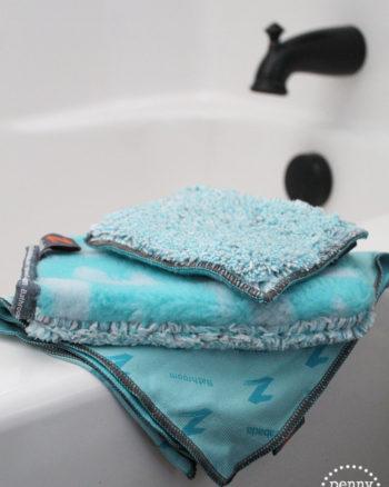 Zabada Microfiber Bathroom Cleaning Products