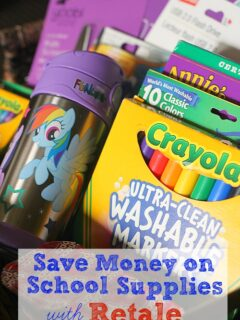 Save on School Supplies with Retale