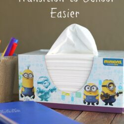 Prepare for School with Puffs Minions Tissues + 5 Tips to Make the Transition to School Easier