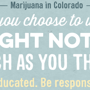 'Good to Know' Parent Resources for Marijuana Education & Prevention
