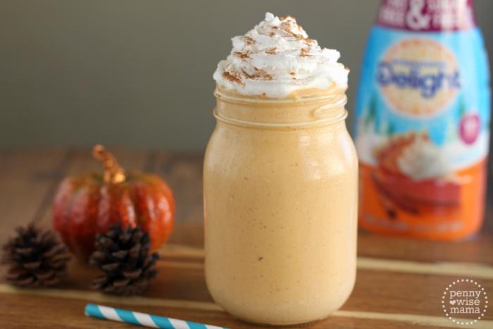 Pumpkin Pie Milkshake - The PennyWiseMama