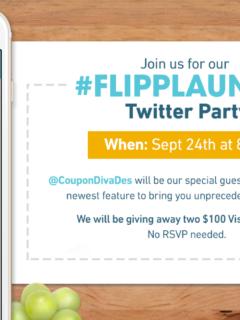 #FlippLaunch Twitter Party