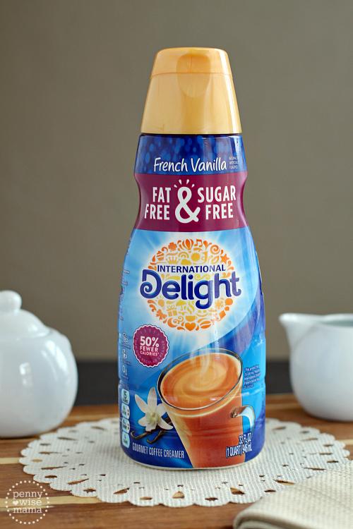Caramel Vanilla Latte – Make At Home Recipe with International Delight Coffee Creamer
