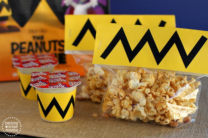 Fun Treats to Celebrate the Peanuts Movie + Free Printables