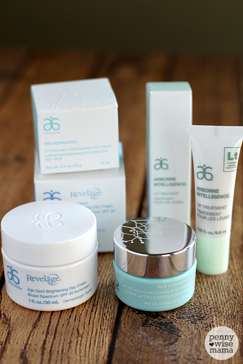 Combat Signs of Aging with Arbonne Skincare Products