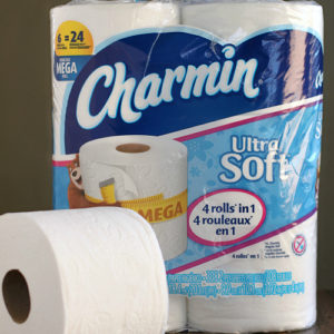 Charmin Ultra Mega Roll vs. The Leading 1000 Sheet Brand