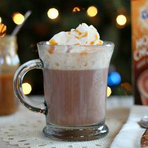 Salted Caramel Hot Chocolate