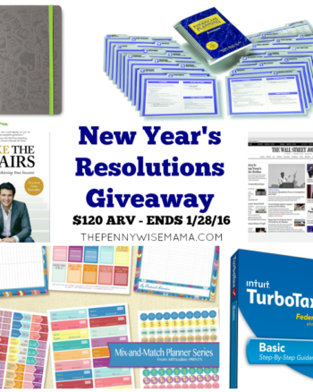 NEW YEAR'S RESOLUTIONS GIVEAWAY