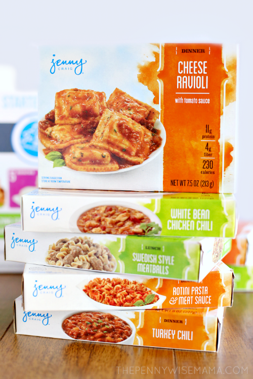 Top secret reviews jenny craig sample kit for Nutrisystem food vs lean cuisine