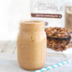 Live a Healthier Lifestyle with Juice Plus + Chocolate Banana Smoothie