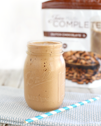 Chocolate Banana Smoothie with Juice Plus