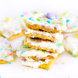 Easter Crack – Saltine Cracker Toffee Recipe
