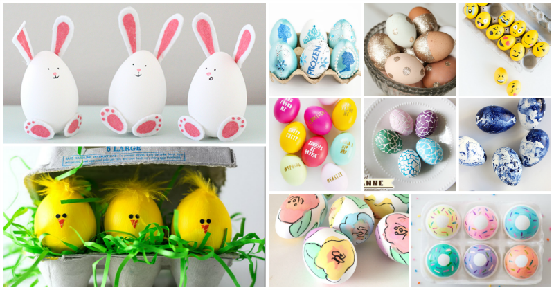 20 Creative Ways to Decorate Easter Eggs
