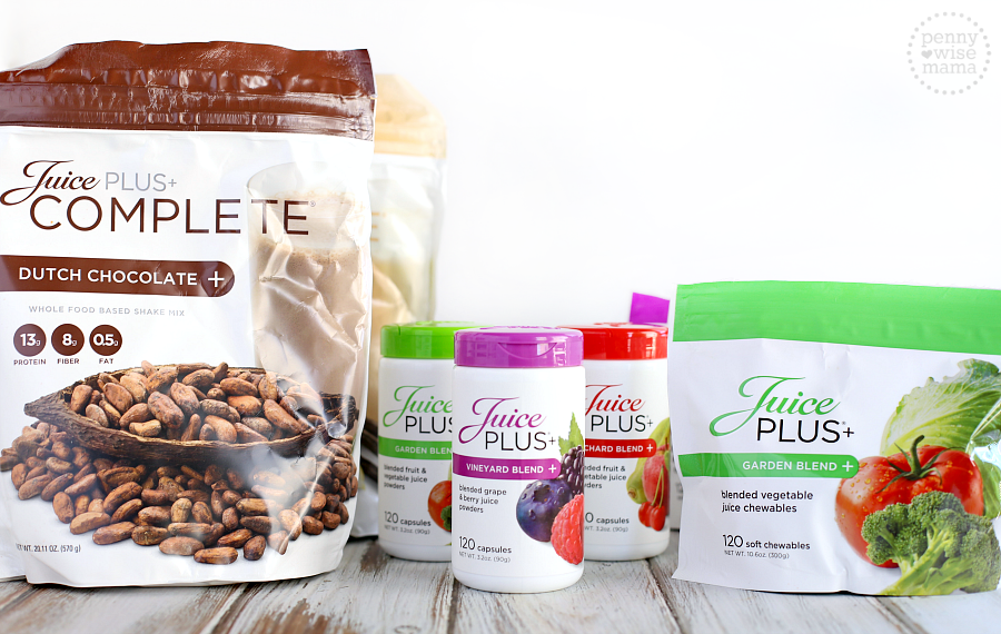 Live a Healthier Lifestyle with Juice Plus+