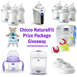 Chicco NaturalFit Feeding Line Giveaway