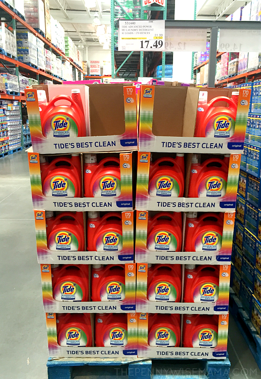 P&G Household Products at Costco