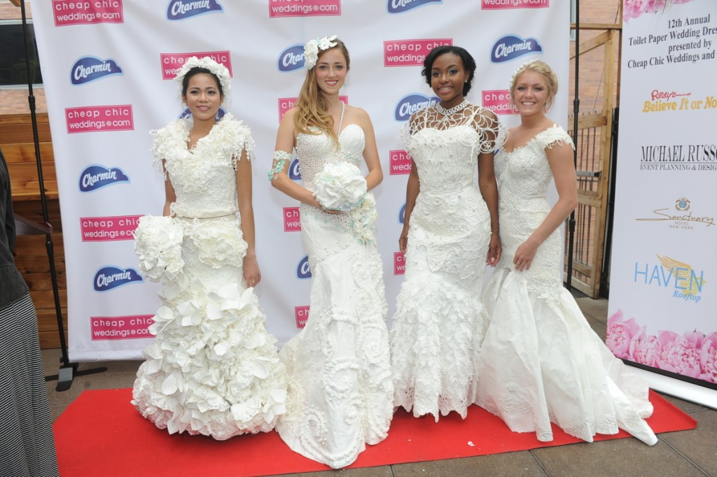 12th Annual Charmin To12th Annual Charmin Toilet Paper Wedding Dress Contest Top 4