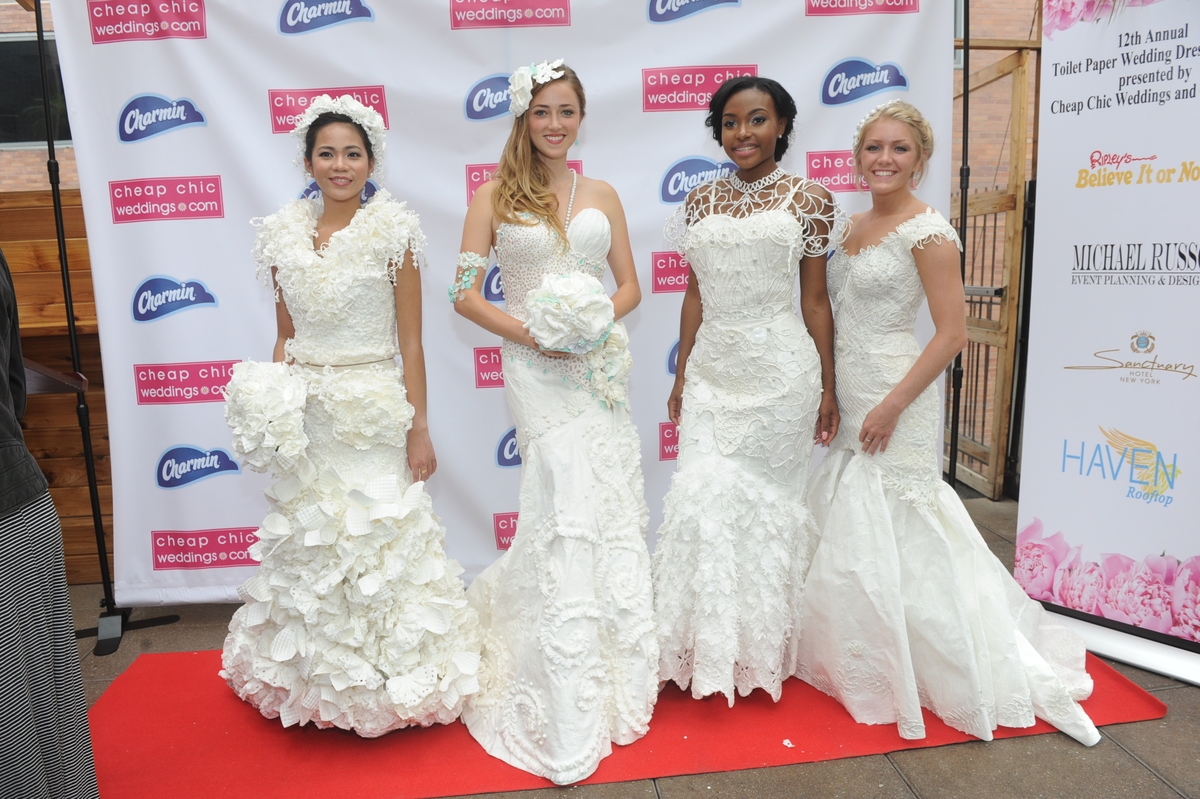 Cheap Wedding Dresses Brooklyn Ny: 12th Annual Toilet Paper Wedding Dress Contest Winners