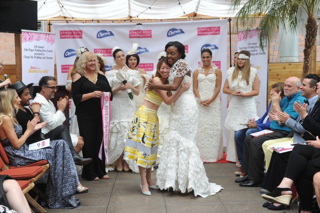 12th Annual Charmin Toilet Paper Wedding Dress Contest Winner