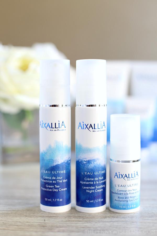 Aixallia French Organic Skincare Line