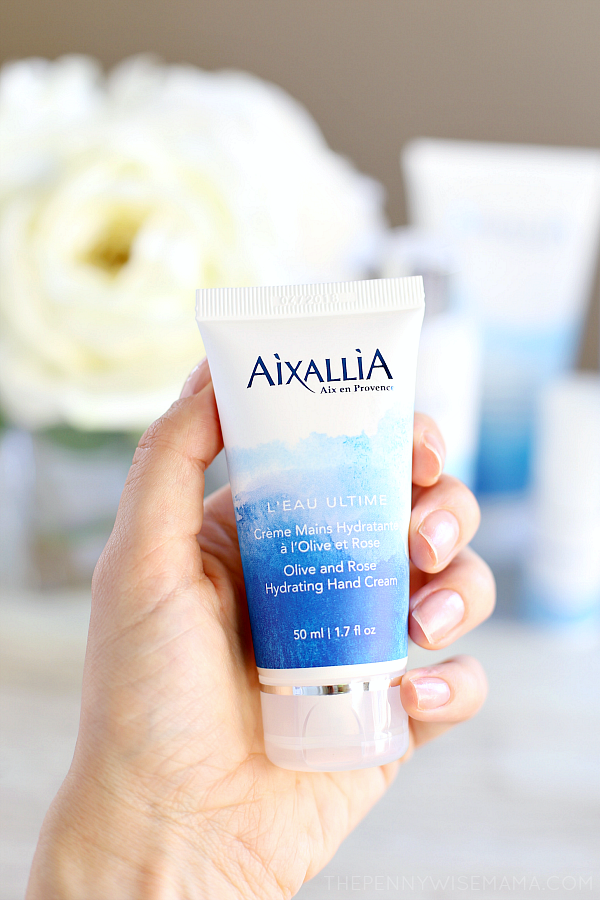 Aixallia Olive and Rose Hydrating Hand Cream