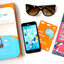 Summer Fun with the AT&T GoPhone {Giveaway}