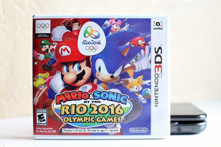Mario & Sonic at the Rio 2016 Olympic Games for the Nintendo 3DS