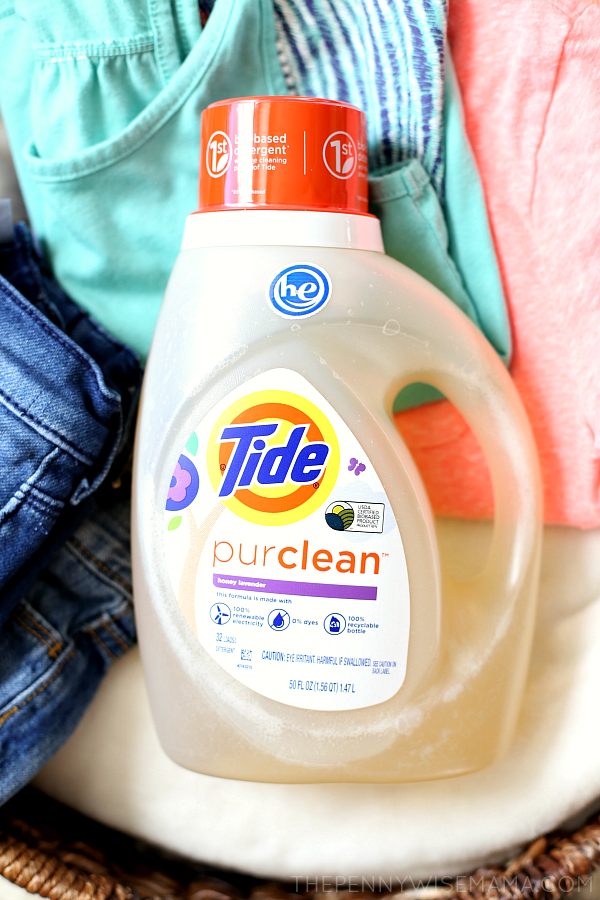New! Tide purclean bio-based detergent