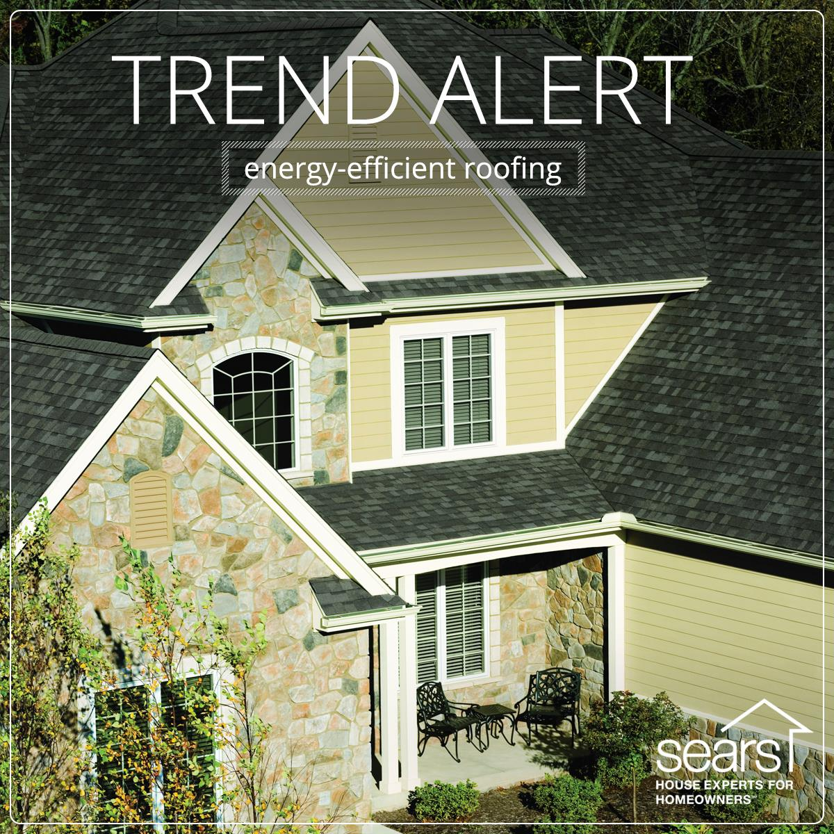 Improve your home 39 s energy efficiency curb appeal with for Energy efficient roofing